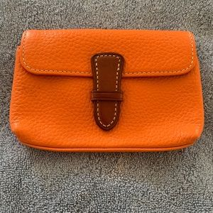 Dooney and Bourke Pebble Leather Pouch
